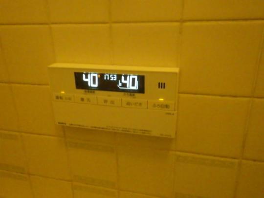 交換後壁掛けコントロールスイッチ(浴室)