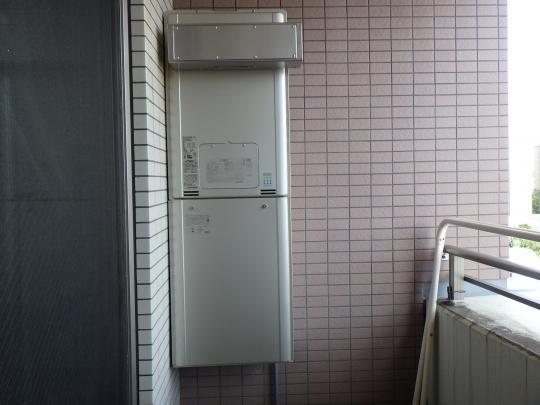 熱源機交換後機種:リンナイ RUFH-E2406AW2-6