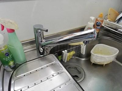 水栓交換工事 キッチン&シャワー