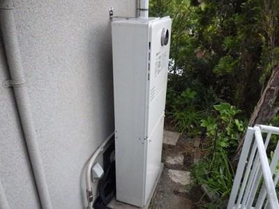 ノーリツGT-C2031(S)ARX-1→GTH-C2460AW3H-BL熱源機へ変更工事|東京都町田市